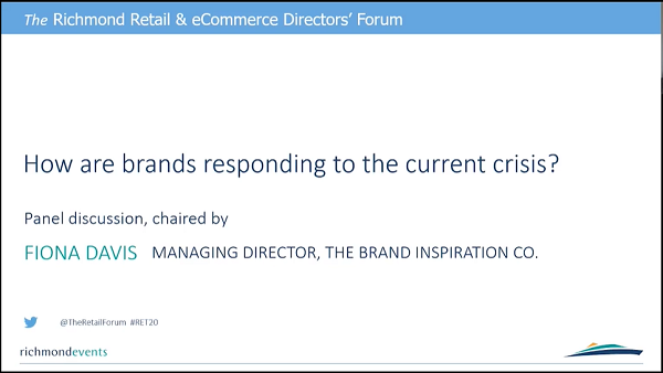 Discussion: How are brands responding to the current crisis?